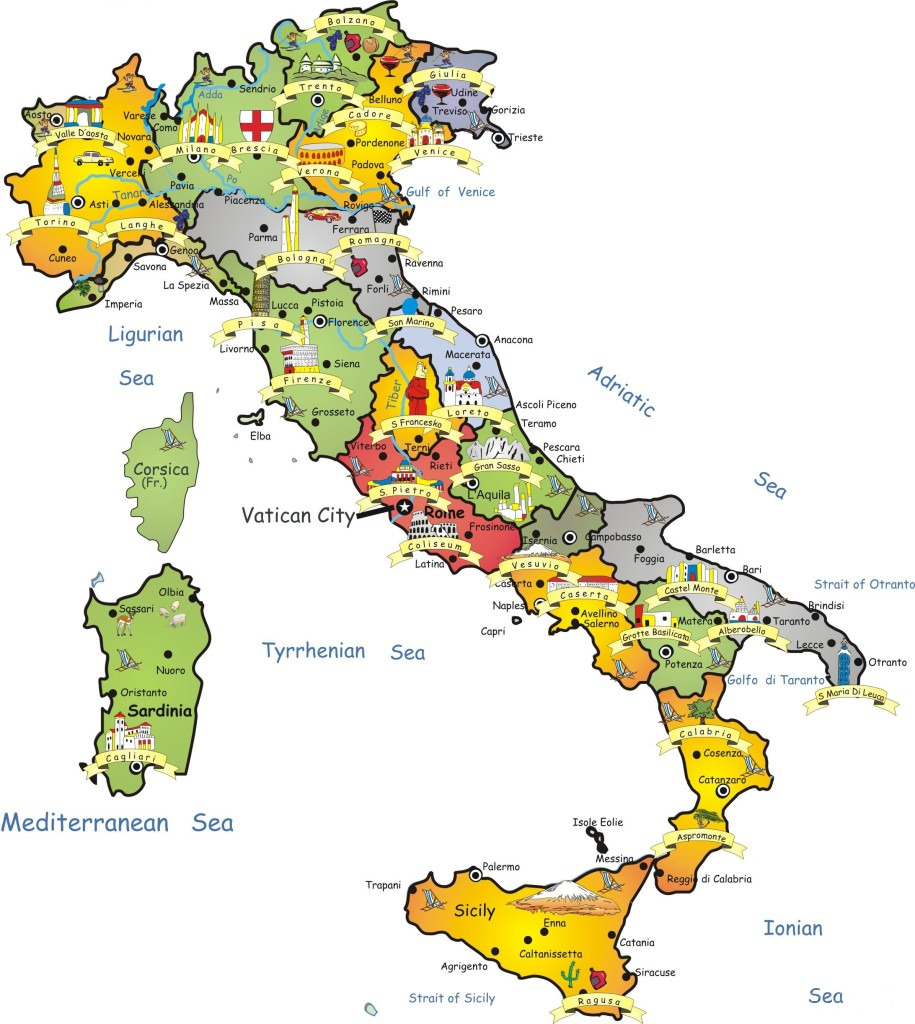 travel-map-of-italy